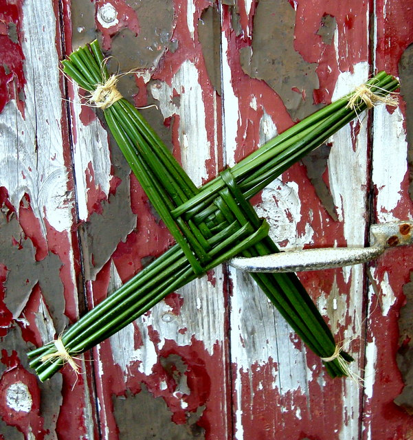 Crosóg Bríde: Drumnalost (Bridgid's cross)