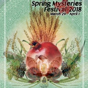 Spring Mysteries Festival Poster 2018